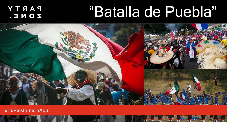 Disfraces Batalla de Puebla