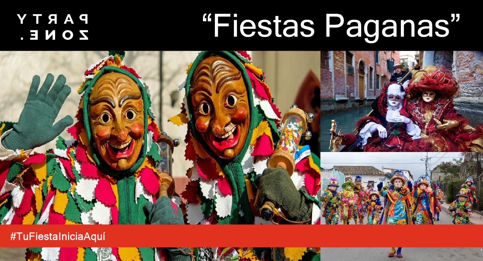 Disfraces Fiestas Paganas