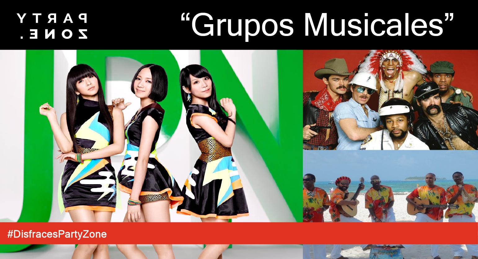 Disfraces para Grupos Musicales