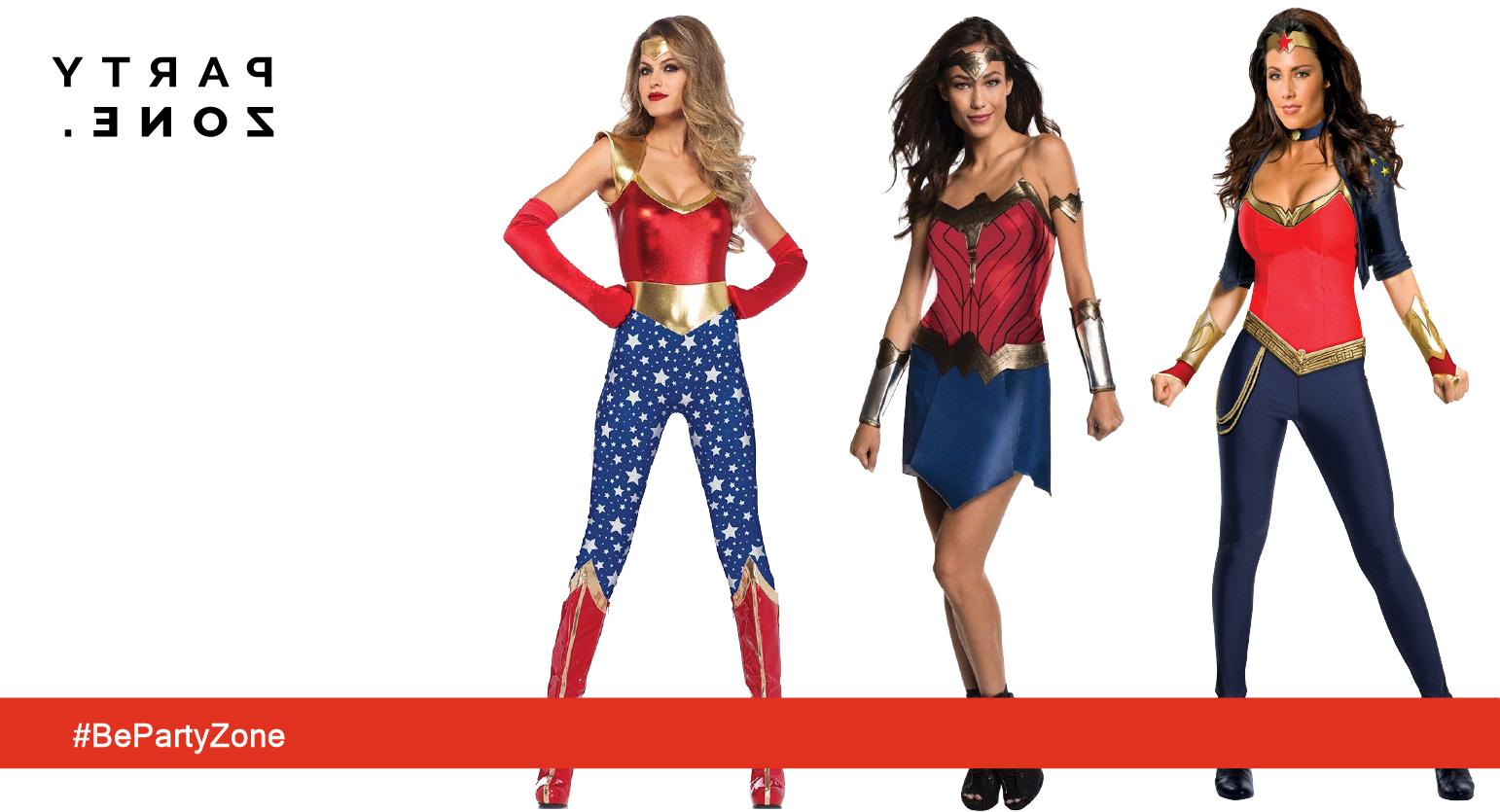 Disfraces de Mujer Maravilla