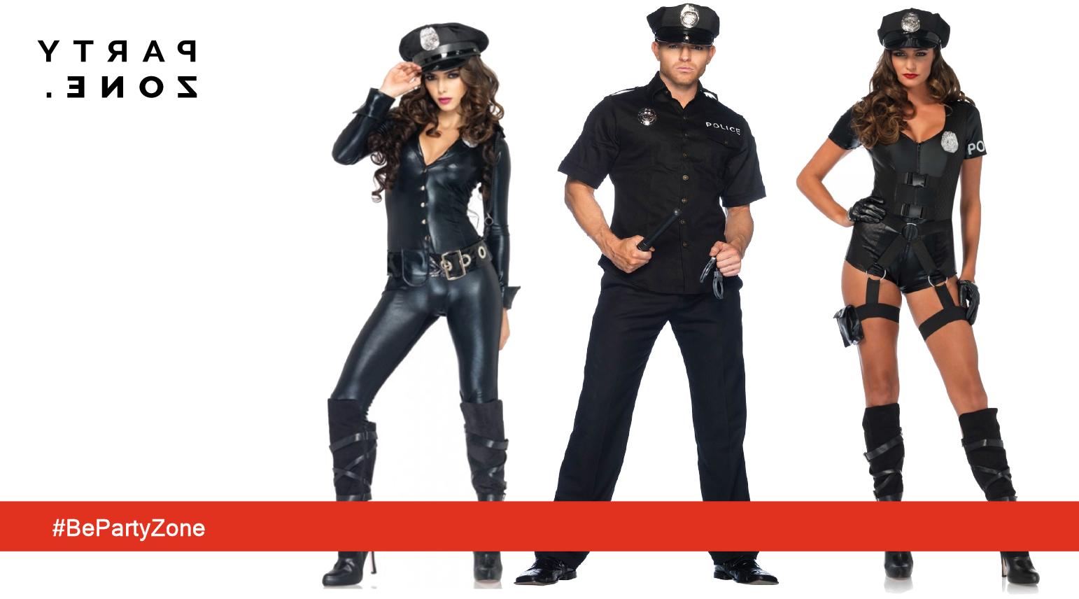 Disfraces de Policía