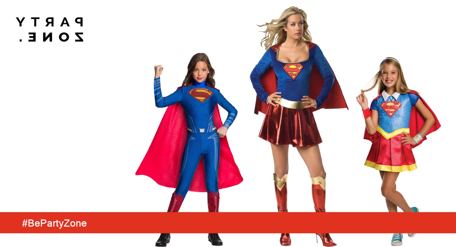 Disfraces de  Super heroínas