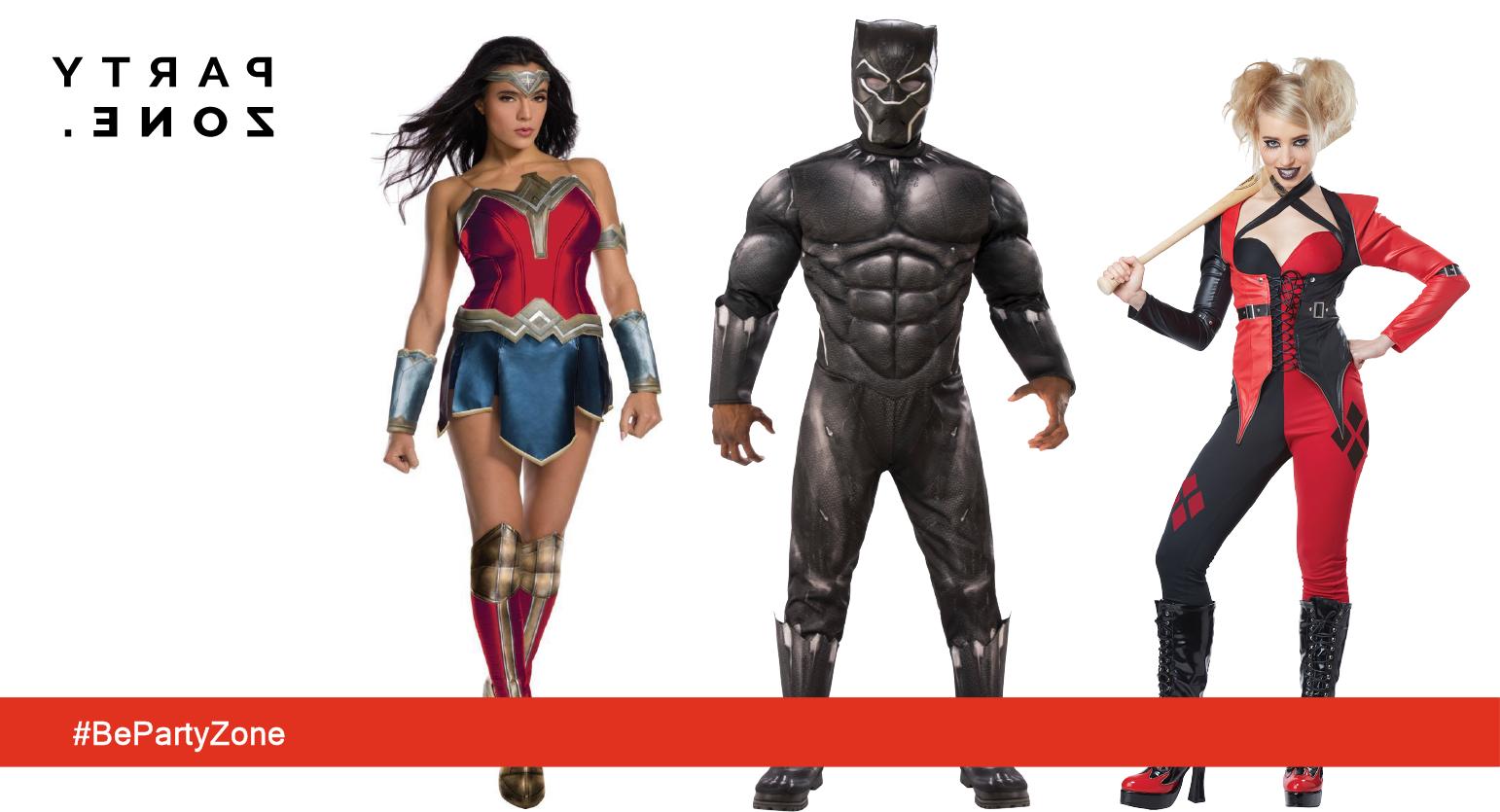 Disfraces de Súper Héroes